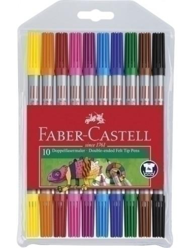 10 Hojas Fieltro A4 de Colores Surtidos Apli 13581