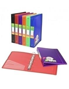 Caja 250 Sobres Kraft Color Rojo 180 x 60 x 350 mm Apli 101652