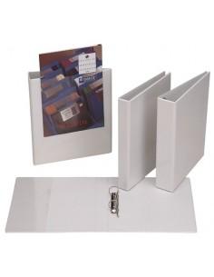 Portapapeles con Pinza A4 Gris Translúcido Apli 13781