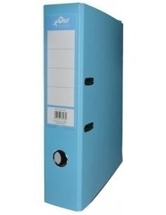 Cuaderno Espiral Cuadricula 4x4mm Tapas Forradas Color Azul Marino A4