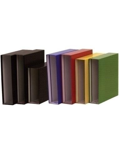 Cuaderno Espiral Cuadricula 4x4mm Tapas Forradas Color Rojo A4