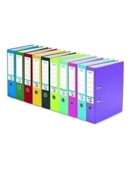 100 Hojas Etiquetas Color Naranja Flúor 210 x 297mm Apli 11748